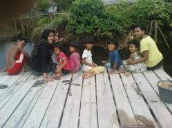 Disebuah desa pedalaman Kalimantan