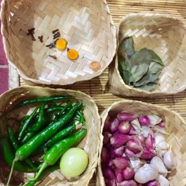 Bahan-bahan alamiah yang mudah ditemui di dapur :D